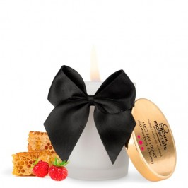 MELT MY HEART KISSABLE CANDLE BIJOUX INDISCRETS WILD STRAWBERRY AND HONEY 70ML