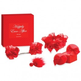 KIT NOIVAS HAPPILY EVER AFTER BIJOUX INDISCRETS VERMELHO