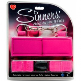 WAIST HARNESS AND CUFFS SINNERS´