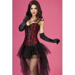 CORSET AND THONG CR-3306