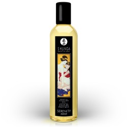 SHUNGA MASSAGE OIL SERENITY MONOÏ 250ML