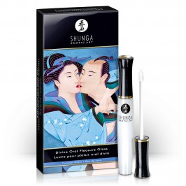 SHUNGA DIVINE ORAL PLEASURE GLOSS COCONUT 10ML