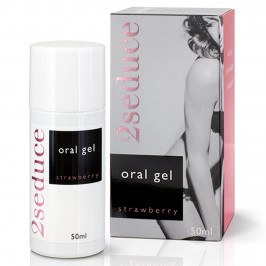 2SEDUCE ORAL GEL STRAWBERRY FLAVOUR 50ML