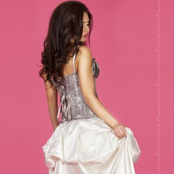 CHILIROSE CR-3669 CORSET GREY