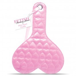 PALMATÓRIA FETISH FANTASY SERIES QUILTED HEART PADDLE