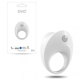 OVO B10 PENIS RING  WHITE