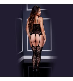 BODYSTOCKING 3124 BACI BLACK