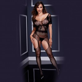 BODYSTOCKING 3133 BACI BLACK