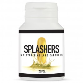 SPLASHERS MOISTURIZING LUBE CAPSULES 20 PIECES