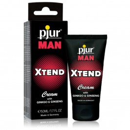 PJUR MAN XTEND STIMULANT CREAM WITH GINGKO & GINSENG 50ML