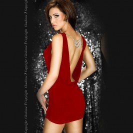 DRESS AND JEWELERY CR-3286 RED