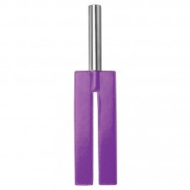 OUCH! LEATHER SLIT PADDLE PURPLE