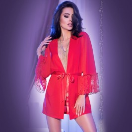 ROBE AND THONG CR-4084 RED