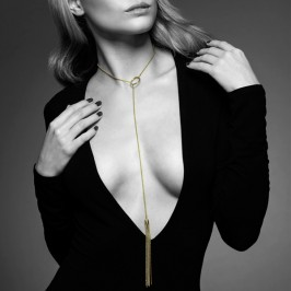 THE MAGNIFIQUE COLLECTION METALLIC CHAIN TICKLER BIJOUX INDISCRETS GOLDEN
