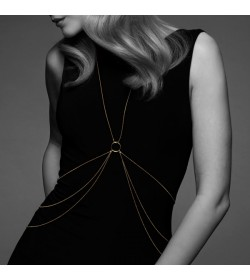 THE MAGNIFIQUE COLLECTION BODY CHAIN 8 BIJOUX INDISCRETS GOLDEN