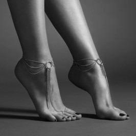 THE MAGNIFIQUE COLLECTION FEET CHAIN BIJOUX INDISCRETS SILVER