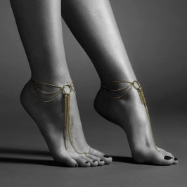 THE MAGNIFIQUE COLLECTION FEET CHAIN BIJOUX INDISCRETS GOLDEN