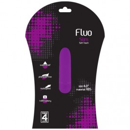 FLUO VIBRATOR SLIM PURPLE