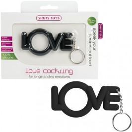 LOVE COCKRING BLACK