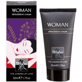 CREME ESTIMULANTE FEMININO SHIATSU™ WOMAN STIMULATION CREAM 50ML