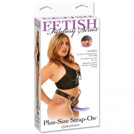 FETISH FANTASY SERIES PLUS-SIZE STRAP-ON