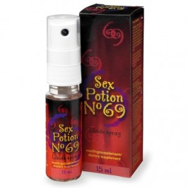 SPRAY ESTIMULANTE SEX POTION Nº 69 15ML