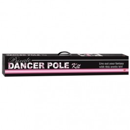 VARÃO DE STRIP-TEASE PRIVATE DANCER POLE KIT ROSA