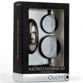OUCH! ELECTRO COCKRING SET STIMULATOR