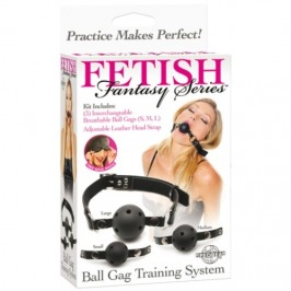 MORDAÇA DE TREINO BALL GAG TRAINING SYSTEM FETISH FANTASY SERIES