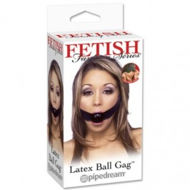 MORDAÇA LATEX BALL GAG FETISH FANTASY SERIES