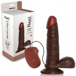 VIBRADOR REALÍSTICO REAL RAPTURE EARTH FLAVOUR 6.5'' NEGRO