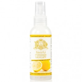 TOUCHE ICE LEMON LUBRICANT AND MASSAGE OIL 80ML